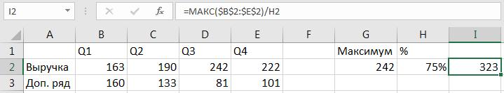 Добавление дополнительного ряда в таблицу