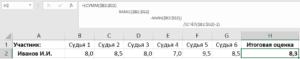 Приведение формулы в читаемый вид в Excel